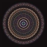Mandala. Sun pattern. Hand drawn Mandala Sun. Beautiful Indian decorative pattern Royalty Free Stock Photography