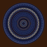 Mandala. Sun pattern Royalty Free Stock Photography