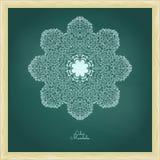 Mandala surpreendente de flores lilás Fotografia de Stock