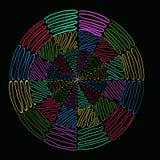 Mandala Swirl Immagini Stock