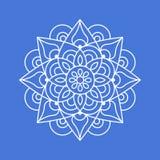 Mandala Symbol - garnering stock illustrationer