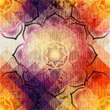 Mandala Symbol Seamless Pattern Royalty Free Stock Photography