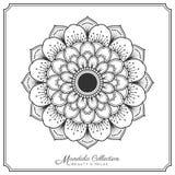 Mandala tattoo design. Mandala decorative ornament design for coloring page, greeting card, invitation, tattoo, yoga and spa symbol. Vector illustration Stock Photo