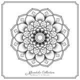 Mandala tattoo design. Mandala decorative ornament design for coloring page, greeting card, invitation, tattoo, yoga and spa symbol. Vector illustration Stock Image