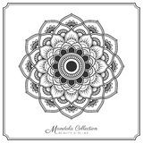 Mandala Tattoo Design Template Images libres de droits