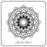Mandala Tattoo Design Template stock illustrationer