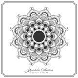 Mandala Tattoo Design Template Image libre de droits