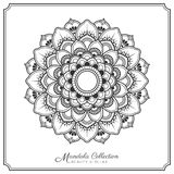 Mandala Tattoo Design Template Stock Photography