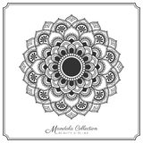 Mandala Tattoo Design Template Royalty Free Stock Photo