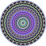 Mandala Techno royalty free illustration
