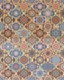 Mandala Tile Pattern arrondie Image libre de droits