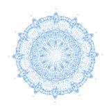 Mandala tiré par la main abstrait Image stock