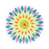 Mandala tirada mão ilustração do vetor