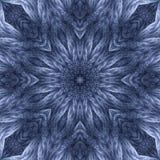 Mandala torcida de la estrella del hilado fotos de archivo libres de regalías