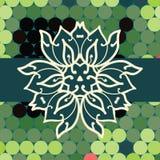 Mandala triangle vector Stock Photography
