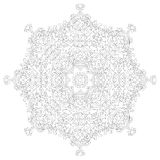 Mandala tribal do ornamento Imagem de Stock Royalty Free