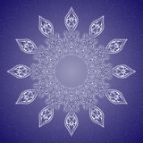Mandala, tribal ethnic ornament, vector art. Mandala, tribal ethnic ornament, vector islamic arabic indian pattern Stock Photos