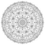 Mandala, tribal ethnic ornament, vector islamic. Arabic indian pattern Royalty Free Stock Images