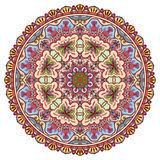 Mandala, tribal ethnic ornament, vector islamic Stock Image