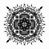 Mandala tribal ethnic ornament vector slamic arabic indian pattern. (vector eps 10 stock illustration