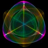 Abstract symmetrical symbol Royalty Free Stock Photography
