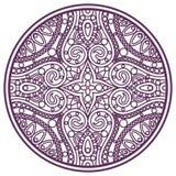 Mandala uderzenie Obrazy Royalty Free