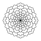 mandala Uitstekend Rond Ornamentpatroon Islamitisch, Arabisch, Indisch Stock Foto's