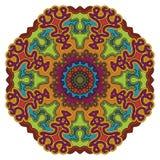 mandala Uitstekend Rond Ornamentpatroon Islamitisch, Arabisch, Indisch Royalty-vrije Stock Foto