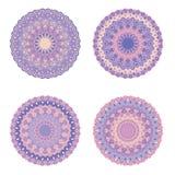 mandala Uitstekende decoratieve elementen Hand Getrokken Achtergrond Islam, Arabische, Indische motieven Stock Afbeeldingen