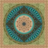 Mandala végétal Image libre de droits
