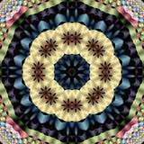 Mandala van Daisy Stock Afbeelding