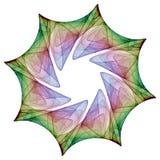Mandala van de kleur royalty-vrije illustratie