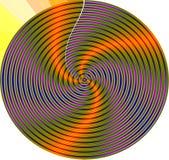 Mandala van de werveling vector illustratie