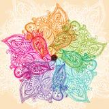 Mandala variopinta Fotografie Stock