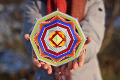 Mandala variopinta Fotografie Stock Libere da Diritti