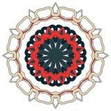 Mandala variopinta araba Ornamenti tribali etnici fotografie stock