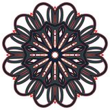 Mandala variopinta araba Ornamenti tribali etnici fotografia stock libera da diritti