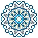 Mandala variopinta araba Ornamenti tribali etnici fotografia stock