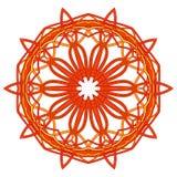 Mandala variopinta di Aribic Ornamenti tribali etnici Fotografie Stock