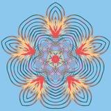 Mandala variopinta di Aribic Ornamenti tribali etnici Immagini Stock Libere da Diritti