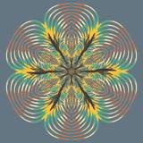Mandala variopinta di Aribic Ornamenti tribali etnici Immagini Stock