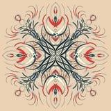 Mandala variopinta di Aribic Ornamenti tribali etnici Fotografie Stock Libere da Diritti