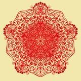 Mandala variopinta Ornamenti tribali etnici Immagine Stock