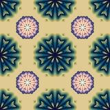 Mandala variopinta Ornamenti tribali etnici Fotografie Stock