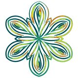 Mandala variopinta Ornamenti tribali etnici Immagini Stock Libere da Diritti