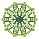 Mandala variopinta Ornamenti tribali etnici Fotografie Stock Libere da Diritti