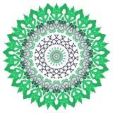 Mandala variopinta Ornamenti tribali etnici Immagini Stock