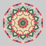 Mandala variopinta Ornamenti tribali etnici Fotografia Stock Libera da Diritti