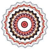 Mandala variopinta Ornamenti tribali etnici fotografia stock