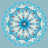 Mandala variopinta Ornamenti tribali etnici Immagine Stock Libera da Diritti